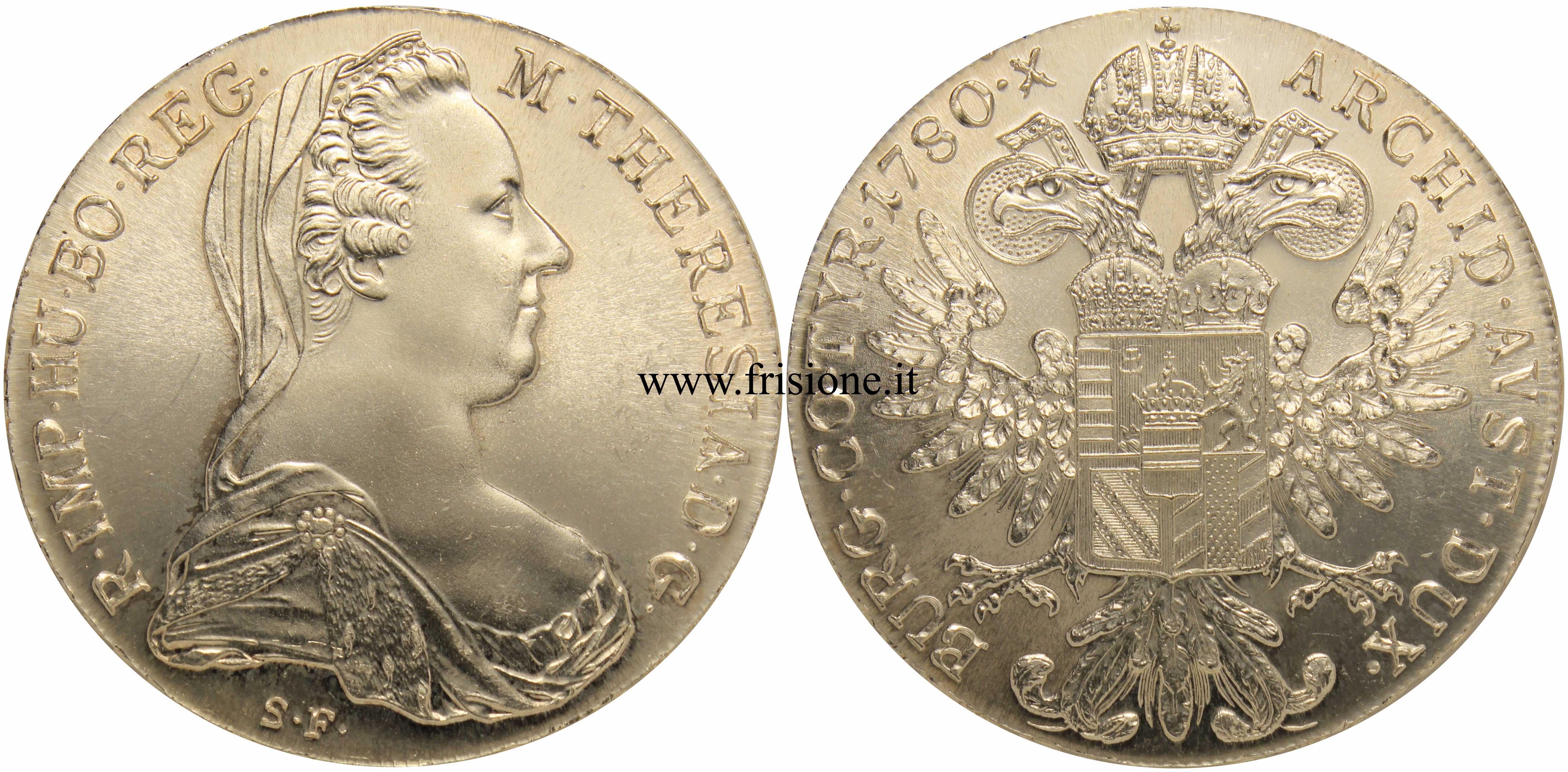 cb48b6b25c Austria - Maria Teresa - Tallero 1780 x