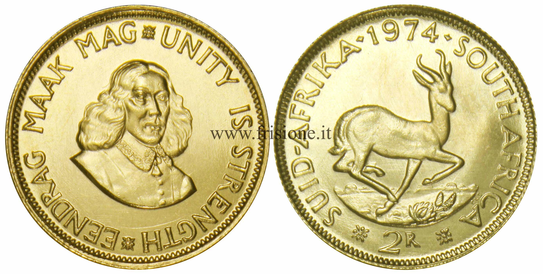 Sud africa 2 rand 1974 sterlina - Sterlina oro 2017 fondo specchio ...
